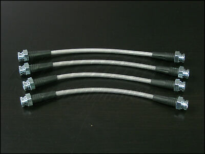 Techna-Fit Stainless Steel Braided Brake Lines for 1970-1973 Datsun 240Z