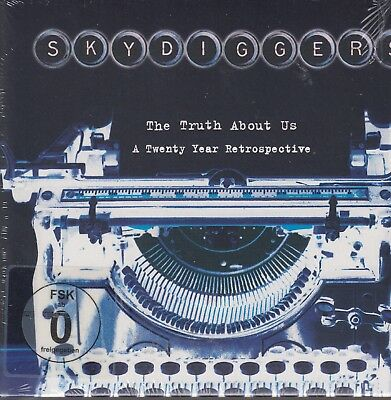 Skydiggers / The Truth About Us - A Twenty Year Retrospective (CD+DVD, NEU!)