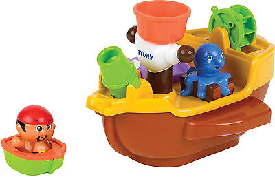 Tomy PIRATE SHIP Baby/Child/Toddler Squirting Bath Activity Toy BN