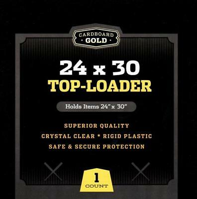 Case 25 CBG 24 x 30 Hard Plastic Topload Print / Poster Holders toploaders 24x30