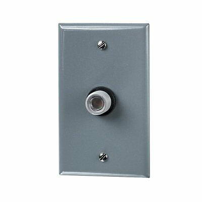 INTERMATIC K4321C 15A 120V Fixed Position Photo Control with Wall Plate