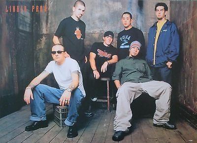 """LINKIN PARK """"GROUP STANDING TOGETHER"""" ASIAN MUSIC POSTER - Nu Metal Music"""