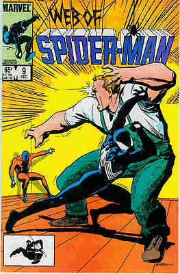 Web of Spiderman # 9 (USA, 1985)