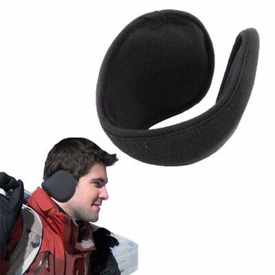 2 Pack: Ear Warmers Behind the Ear Style - Fleece Muffs
