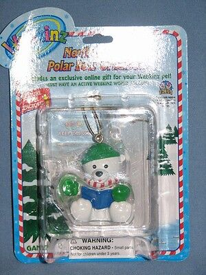 Webkinz Northern Tales Polar Bear Christmas Ornament NWT  **FAST Shipping!** :D
