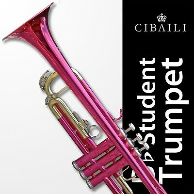 Student Trumpet CIBAILI Gold Bb • High Quality • Brand New With Case •