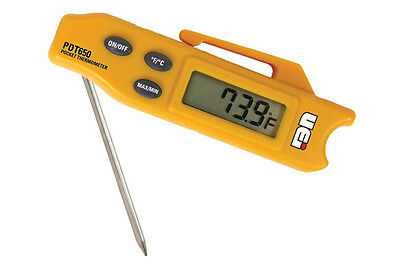 UEI PDT650 Folding Digital Pocket Thermometer -58 to 572F  LOWEST PRICE