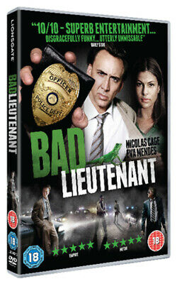 Bad Lieutenant: Port of Call - New Orleans DVD (2010) Nicolas Cage, Herzog