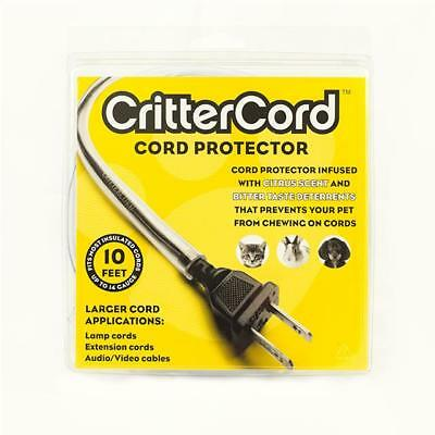 Crittercord citrus cord cable protector 10 feet rabbits cats dogs pets 14 guage