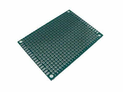 5PCS HQ 5*7cm Single Side Prototype Board Perforated 2.54mm Plated Breadboard