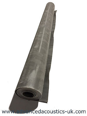 Advanced Acoustics 5kg Soundproofing Mat 1.25m by 3m by 2mm thin Sound Proofing