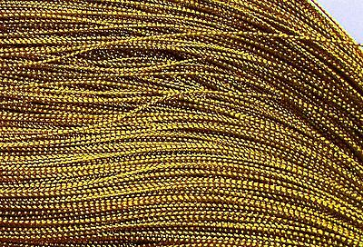 90 m gold metallic rayon 0.8 cord thread sewing jewellery Posted from Melbourne