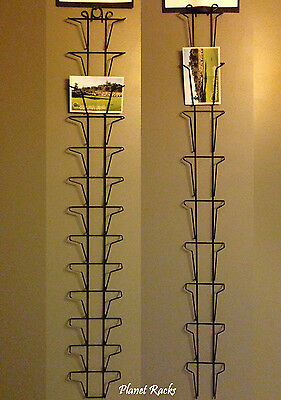 "Planet Racks 4.5"" X 6"" Postcard Wall Display ( 2 Sizes To Choose) Made In USA"