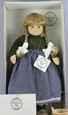 """COLLECTOR'S ESTATE - VINTAGE 21"""" HAND MADE DOLL AITHRA LOTZ PUPPE WEST GERMANY"""