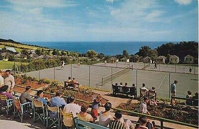 Pontins Tower Beach Holiday Camp Prestatyn Postcard Early 1980 39 S