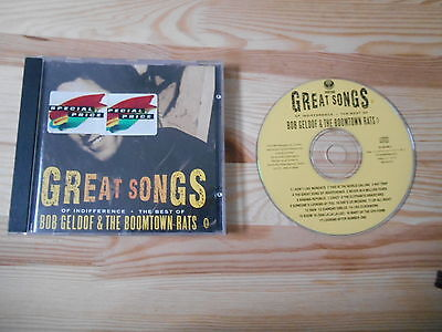 CD Pop Bob Geldof / Boomtown Rats - Great Songs : Best Of (17 Song) VERTIGO