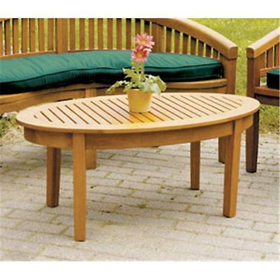 Achla OFT-09 Monet Outdoor Coffee Table Natural Oiled