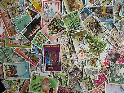 KUT, KENYA, UGANDA, TANZANIA collection of 120 different U/MH up to 2004