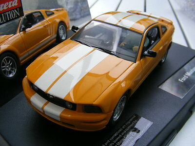 Carrera Evolution 27175 Ford Mustang Gt Amarillo Only EE.UU.