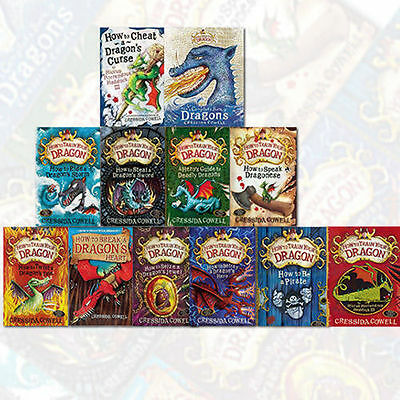 How to Train your Dragon Series12 Books Collection Set By Cressida Cowell's  New