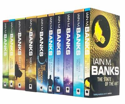 Culture Fantasy Collection Iain M Banks 9 Books Set Pack New Paperback