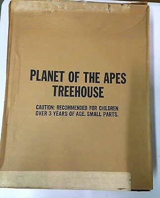 Mego Planet of the Apes Treehouse inside JCPenney Box! VERY RARE!