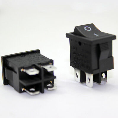 2 units of RS601D  ROCKER  SWITCHES  6(4)A 250VAC 6A/125A 250VAC SWITCH        r