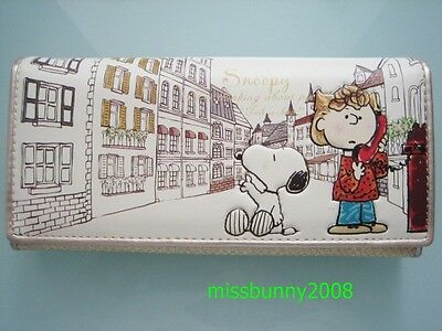 Snoopy Long Wallet Purse Coin Bag ~ NEW Free Shipping