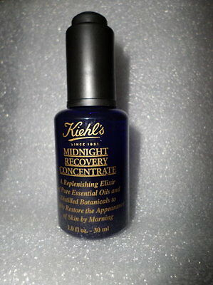 KIEHL'S MIDNIGHT RECOVERY CONCENTRATE 1 OZ / 30 ML 100% AUTHENTIC  NEW
