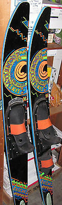 """2 Vintage CONNELLY Rascals Water Skis 59"""""""