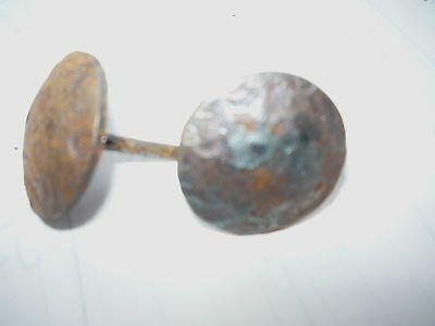 50  RUSTIC ANTIQUE STYLE 1 INCH STEEL CLAVOS NAIL  FURNITURE  CRAFT DECOR