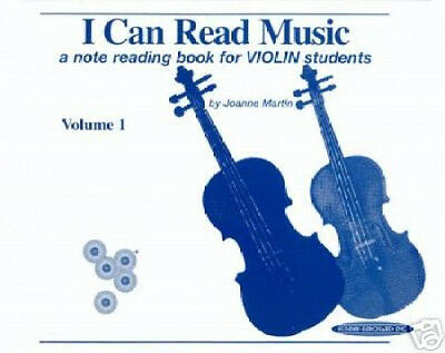 I Can Read Music Volume 1 - Violin Note Reading Book