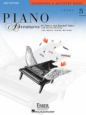 FABER PIANO ADVENTURES LEVEL 2A TECHNIQUE & ARTISTRY - 2ND EDITION