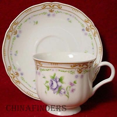 MIKASA china CHATELET L9301 pattern Cup & Saucer