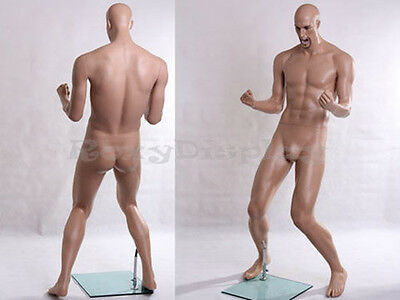 Male Fiberglass Realistic Mannequin Dress From Display #MZ-PW1