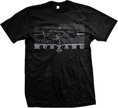 Ford Mustang Honeycomb Grill Legend Shelby Saleen GT Racing Cars Mens T-shirt