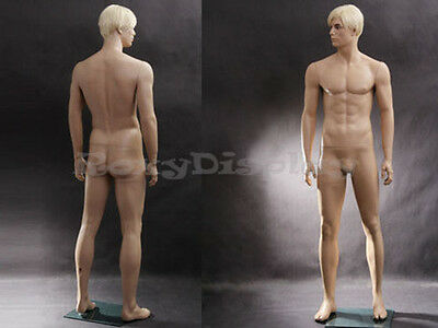 Male Fiberglass Realistic Mannequin Dress From Display #MZ-WEN6