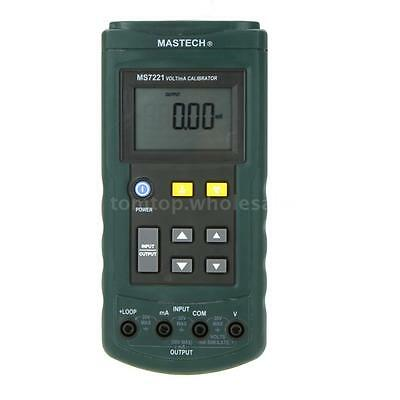 Mastech MS7221 Volt/mA Voltage Current Calibrator DC 0-10V 0-24mA Tester Meter
