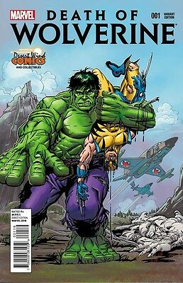 Death Of Wolverine #1 Herb Trimpe Cover DWC Variant NM