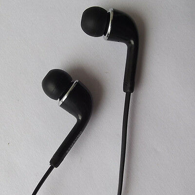COOL in- ear Flat Cable Design Earphone for samsung GALAXY S4 i9500 SIV black