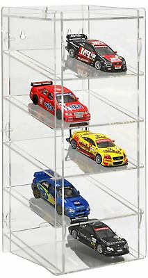 SORA Slot-Car Display Tower 1/32, back-panel: transparent