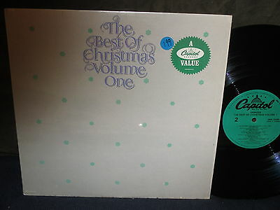 """Various Artists """"The Best of Christmas Volume I"""" LP in SHRINK"""