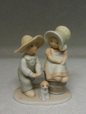 Circle of Friends Taste and See Masterpiece Homco Figurine