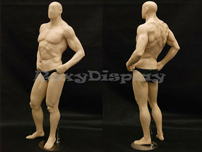 Big Muscle Male Mannequin Dress Form Display #MD-MANF