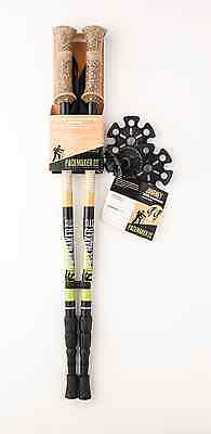 """Pair of PaceMaker Stix """"Journey"""" Trekking Poles with  Attachments."""