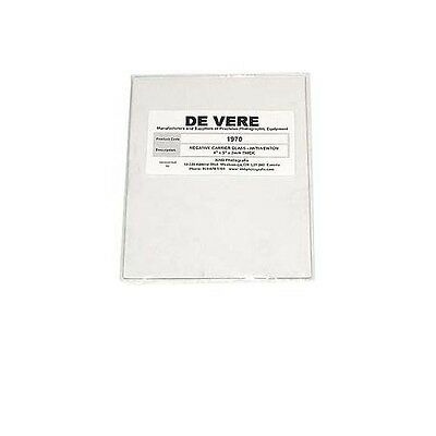 New De Vere / DeVere #1970 4x5 Anti-Newton Ring Negative Carrier Glass