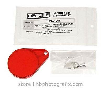 New Red Safety Filter Assembly for LPL 66-SII and 3301D Enlargers