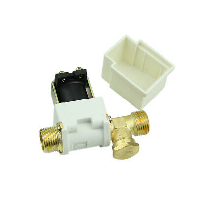 "New 1/2"" Electric Solenoid Valve For Water Air N/C Normally Closed DC 12V"