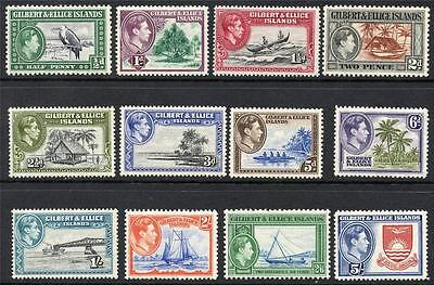 Gilbert & Ellice Scott# 40-51 Sg# 43-54 Mint Never Hinged As Shown Rm