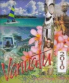 Vanuatu Stamp 2010 Annual Stamps Collection Pack/ Book - 7 Sets Inside